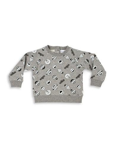 Milton Crawford Babys Cotton Sesame Street Sweatshirt-GREY-4-5