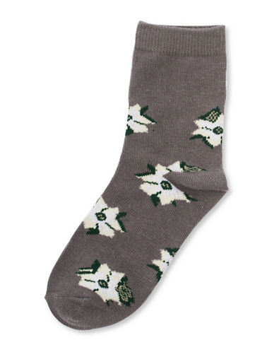 Drake General Store British Columbia Provincial Flower Socks-MULTI-2-3