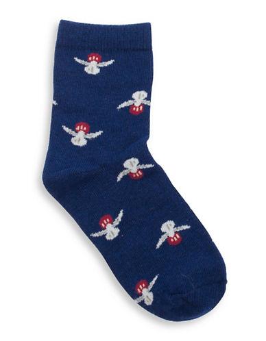 Drake General Store PEI Provincial Flower Socks-MULTI-2-3