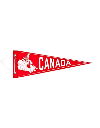 Drake General Store Canada Pennant-RED-One Size