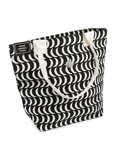 Drake General Store Tough Luck Tote Bag-MOON-One Size