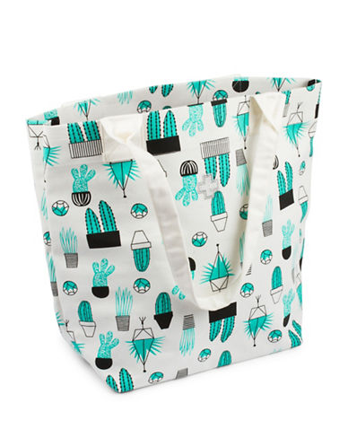 Drake General Store Tough Luck Tote Bag-CACTUS-One Size
