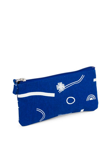 Drake General Store Tough Luck Medium Zip Pouch-BLUE-One Size