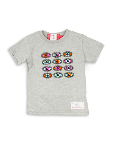 Drake General Store Canada 150th Hayley Elssaesser Cotton Tee-GREY-12-18 Months