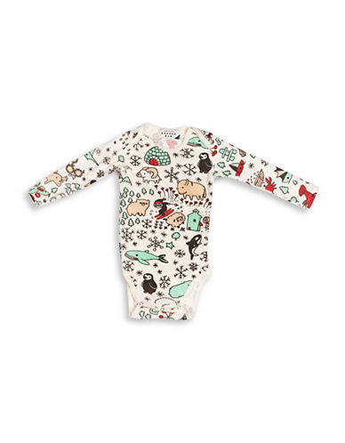 Drake General Store Canada Creature Bodysuit-MULTI-COLOURED-6-12 Months