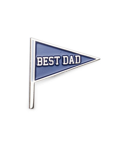 Drake General Store Best Dad Pin-NO COLOUR-One Size