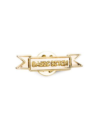 Drake General Store Basic Bitch Pin-NO COLOUR-One Size