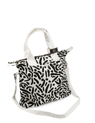 Drake General Store North South Zip Canvas Tote-NO COLOUR-One Size