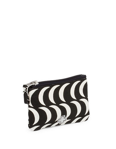 Drake General Store Small Moon Printed Zip Canvas Coin Purse-NO COLOUR-One Size