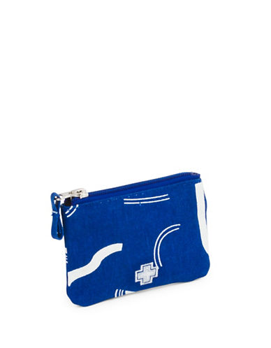 Drake General Store Zip Canvas Coin Purse-NO COLOUR-One Size