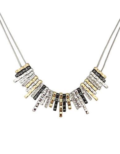 Nine West Nine West Tri Tone Necklace-TRI COLOUR-One Size