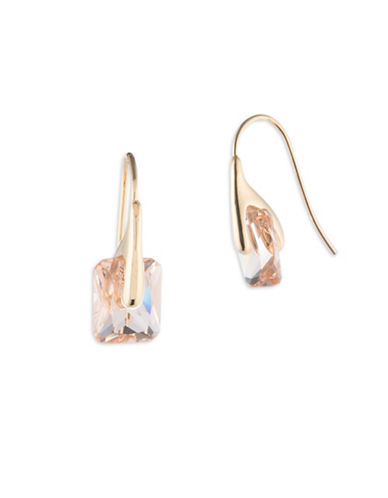Ivanka Trump Goldplated Crystal Drop Earrings-GOLD-One Size