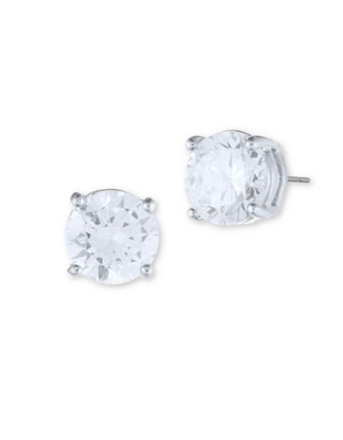 Ivanka Trump Crystal Stud Earrings-SILVER-One Size