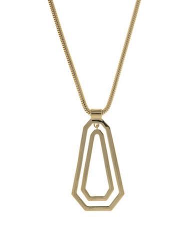 Ivanka Trump Goldplated Adjacent Pendant Necklace-GOLD-One Size