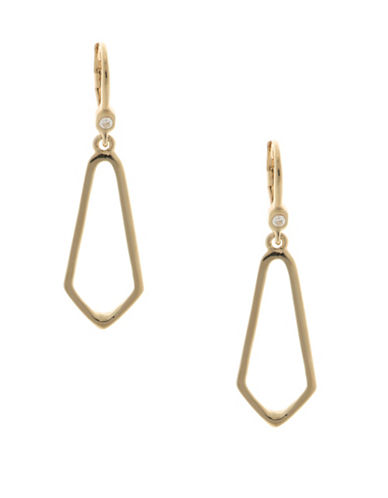 Ivanka Trump Goldplated Drop Earrings-GOLD-One Size