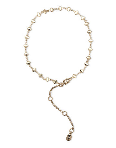 Ivanka Trump 10K Goldplated Adjustable Choker-GOLD-One Size