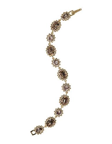 Marchesa Stone Flex Bracelet-BROWN-One Size