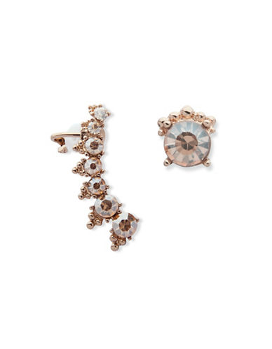 Marchesa Mismatch Crawler Earrings-GOLD-One Size