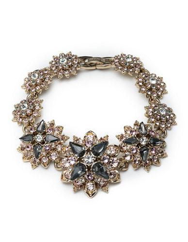 Marchesa Faceted Floral Bracelet-GREY-One Size