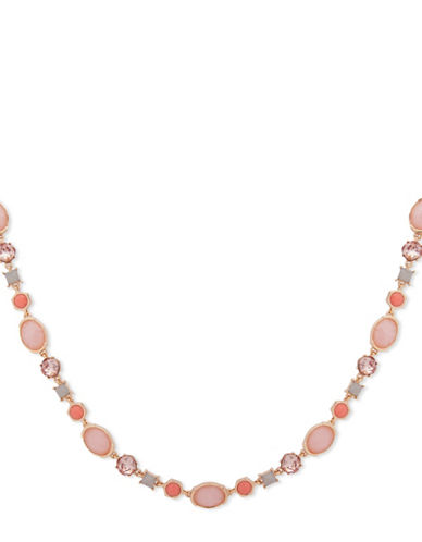Ivanka Trump Studded Collar Necklace-PINK-One Size