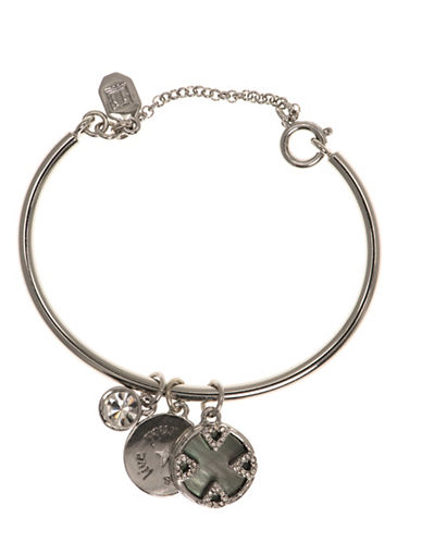 Ivanka Trump Mother-of-Pearl Charm Bracelet-GREY-One Size
