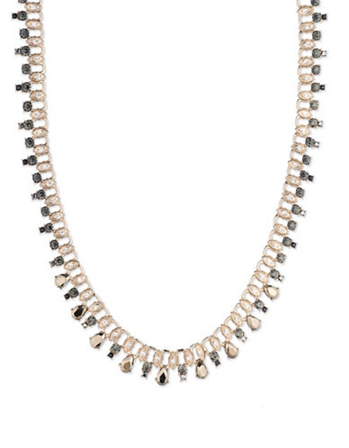 Marchesa Link Collar Necklace-GOLD-One Size