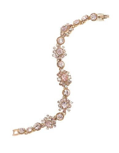 Marchesa Swarovski Flex Bracelet-PINK-One Size