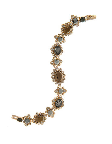 Marchesa Pave Flex Bracelet-GREY-One Size