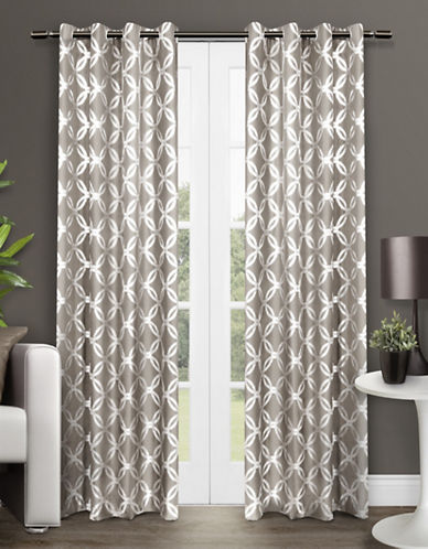 Home Outfitters Modo Two-Pack Window Curtains-NATURAL-One Size