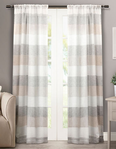 Home Outfitters Bern Two-Pack Window Curtains-NATURAL-One Size