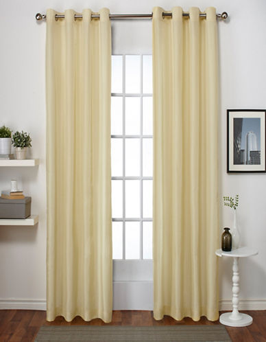 Home Outfitters Chatra Two-Pack Window Curtains-YELLOW-96 inches