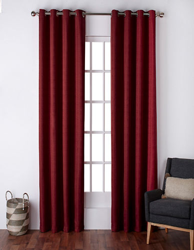 Home Outfitters Virenze Two-Pack Window Curtains-CHILI-One Size
