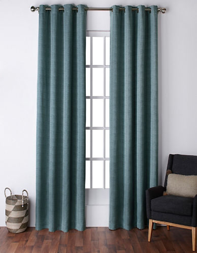 Home Outfitters Virenze Two-Pack Window Curtains-MARINE-One Size