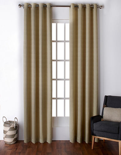 Home Outfitters Virenze Two-Pack Window Curtains-YELLOW-One Size