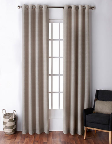 Home Outfitters Virenze Two-Pack Window Curtains-TAUPE-One Size