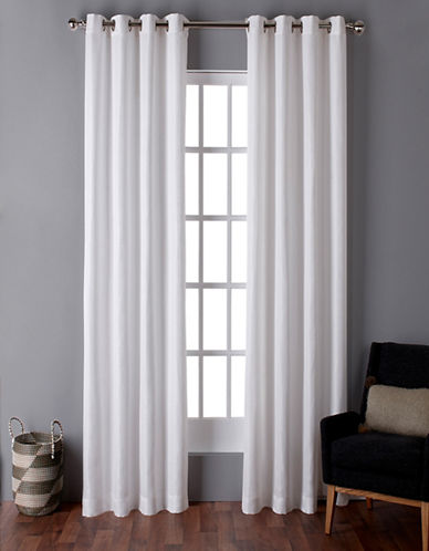 Home Outfitters Virenze Two-Pack Window Curtains-WINTER-One Size