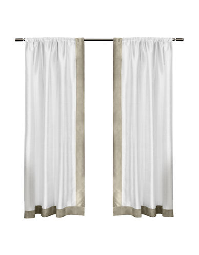 Home Outfitters Grammercy Small Window Curtain-TAUPE-84 inches