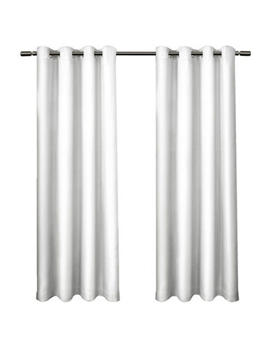 Home Outfitters Eglinton Large Window Curtain-WHITE-96 inches