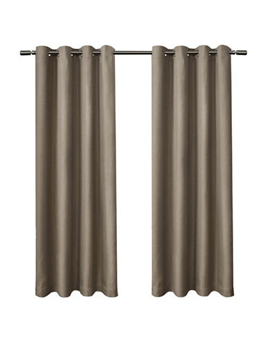 Home Outfitters Eglinton Large Window Curtain-NATURAL-96 inches