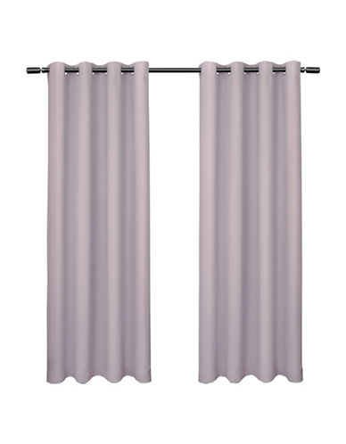 Home Outfitters set of Two Blackout Curtain Panels-LILAC-63 inches