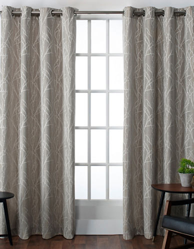 Home Outfitters Finesse Large Window Curtain-NATURAL-84 inches