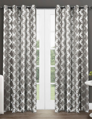 Home Outfitters Modo 96-Inch Curtain Panel-BLACK PEARL-96 inches