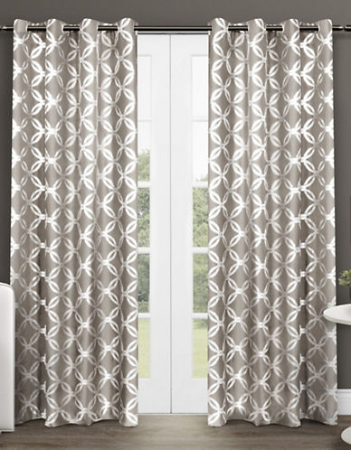 Home Outfitters Modo 96-Inch Curtain Panel-NATURAL-96 inches