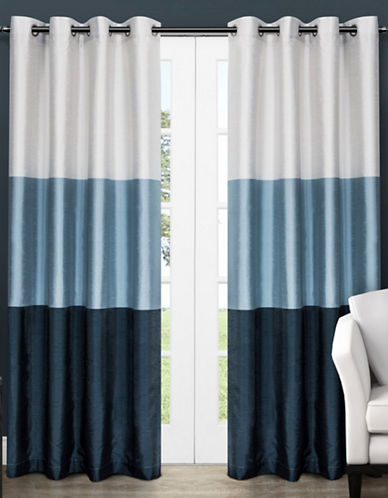 Home Outfitters Chateau Large Window Curtain-INDIGO-108 inches