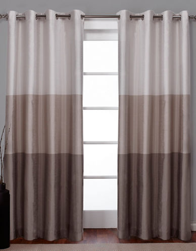Home Outfitters Chateau Large Window Curtain-TAUPE-108 inches