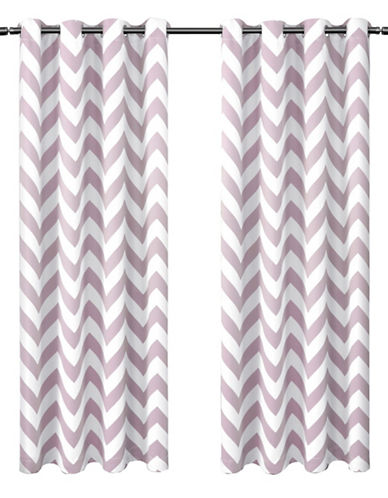 Home Outfitters Mars 52 x 84-Inch Curtain Panel-LILAC-96 inches