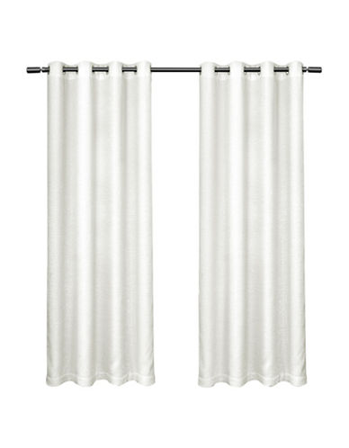 Home Outfitters Criss Cross Large Window Curtain-WINTER-108 inches