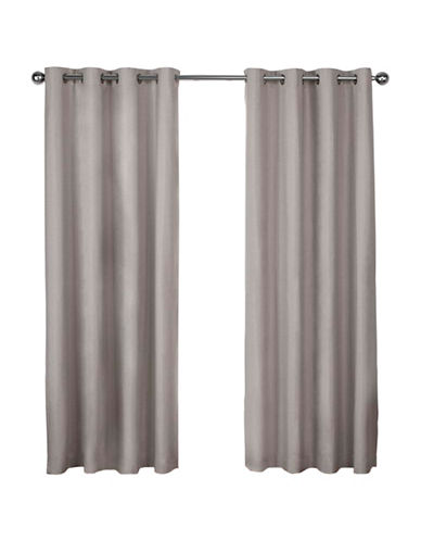 Home Outfitters London 108-Inch Curtain Panel-BEIGE-96 inches