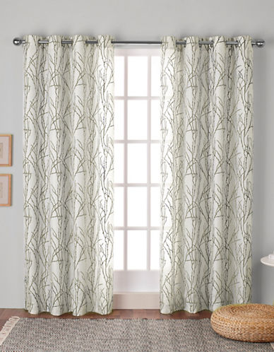 Home Outfitters Montrose Window Curtain Panel-NATURAL-84 inches