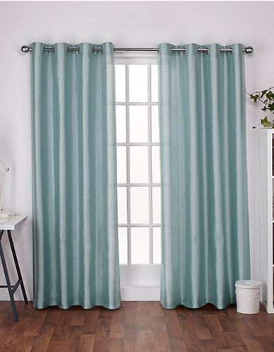 Home Outfitters Chatra Small Window Curtain-ROBIN BLUE-84 inches